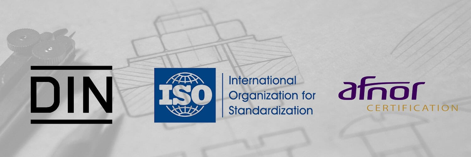 DIN, ISO & AFNOR Standards - What Are They?
