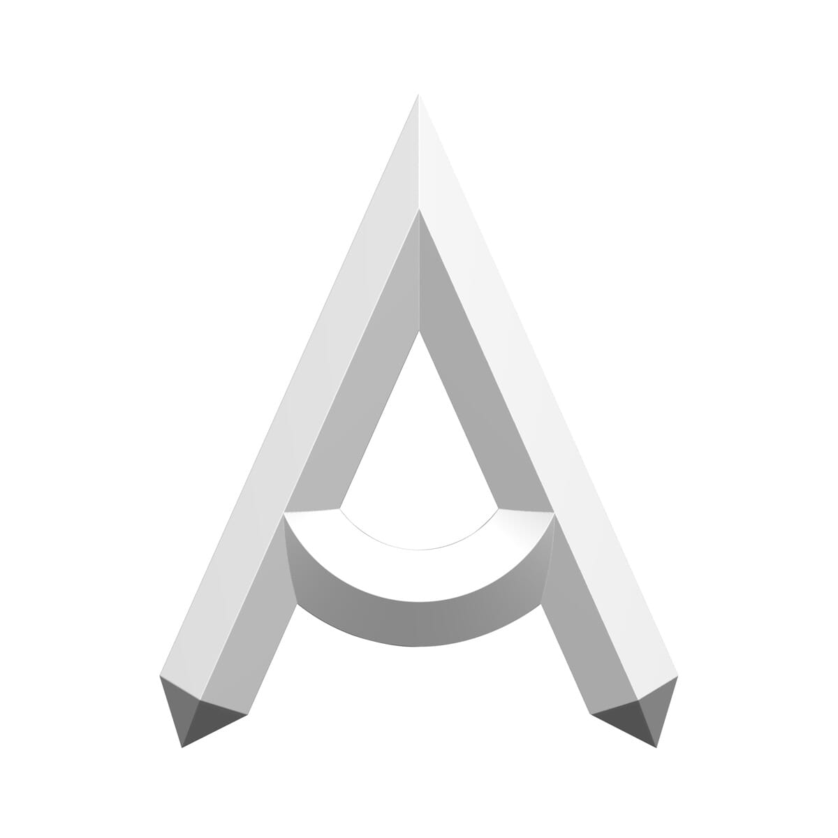 1/2-13 UNC x 2 inch Imperial Full Thread Carriage Bolts (ANSI B18.5) - Black A2 Stainless Steel Drawing